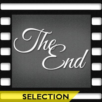 Affiche The end